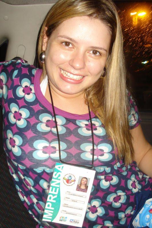 Em 2010, quando fiz a cobertura do Carnaval de SSA para o jornal no qual trabalhava