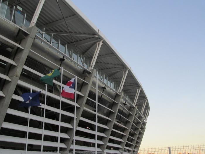 Entrada do estádio