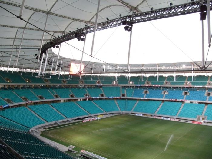 Mais um pouco do estádio