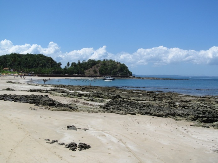 Praia em Ilha dos Frades