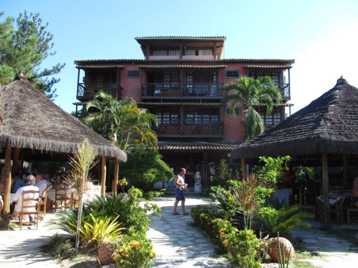 Hotel Kirymuré, no qual almocei
