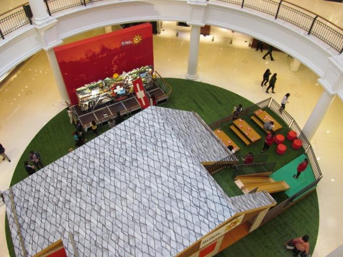 Espaço da Suíça no Shopping Pátio Higienópolis