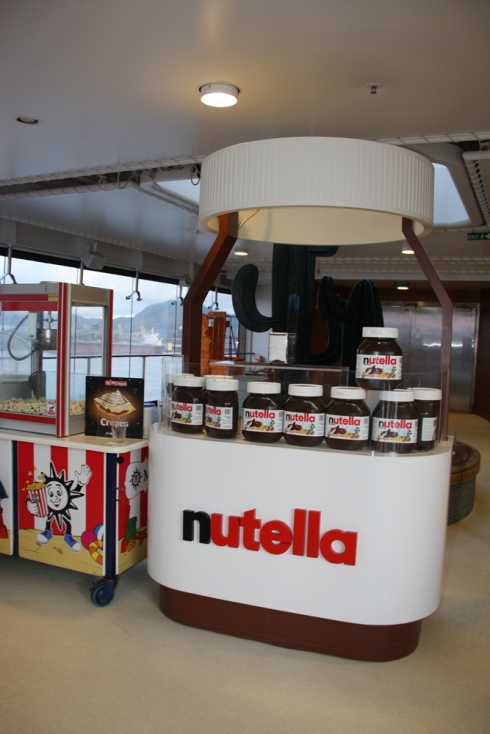 Local do sonhos: quiosque do crepe de Nutella