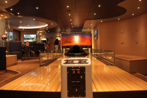 O bar e restaurante Sports & Bowling Dinner