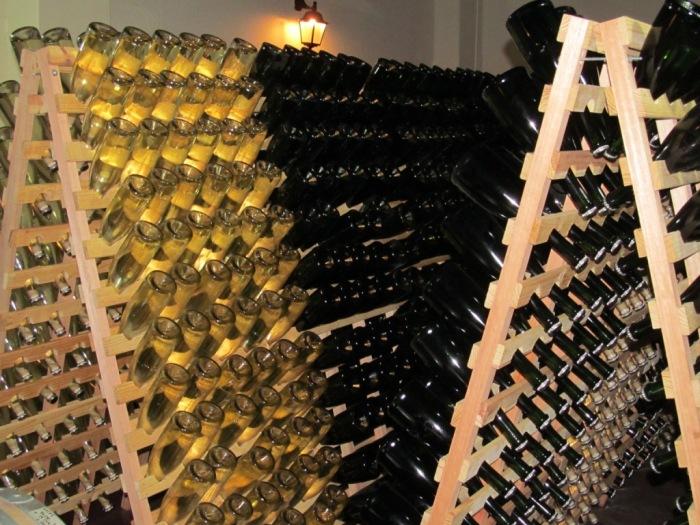 Cave das garrafas