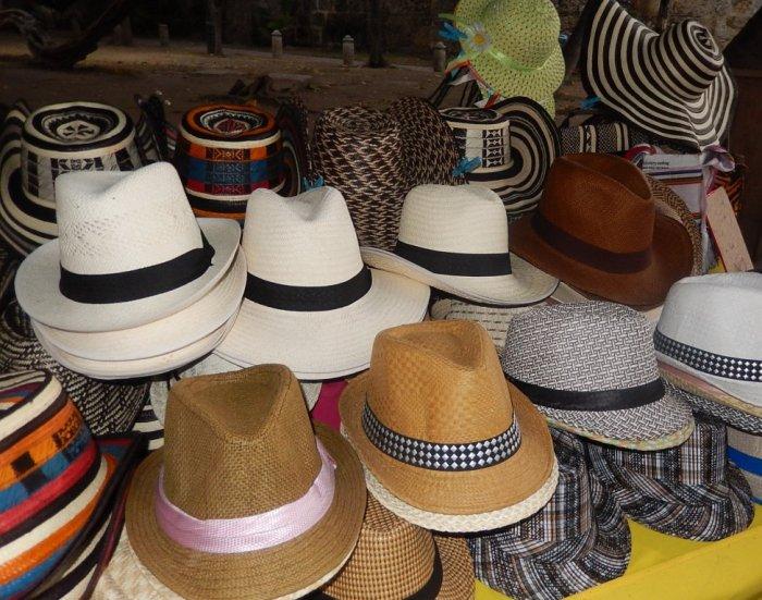 Você não irá sair de Cartagena sem um chapéu. Custam ao redor de US$ 13
