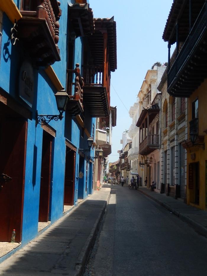 As cores da cidade são vibrantes!