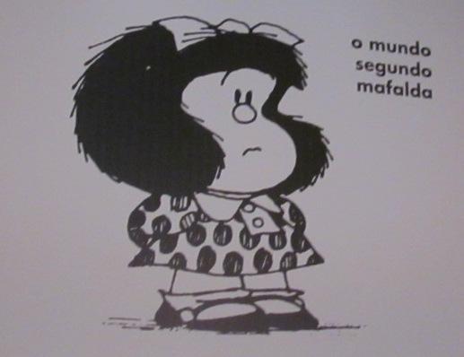 Mafalda completou 50 anos em 2014 mas encanta todas as gerações