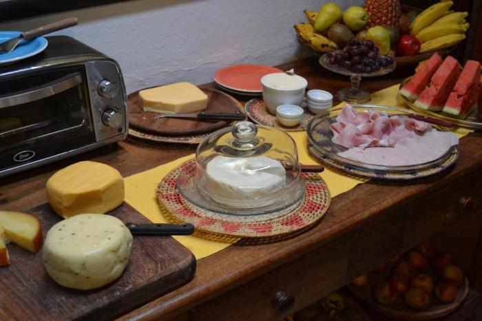 A variedade de queijos é grande!