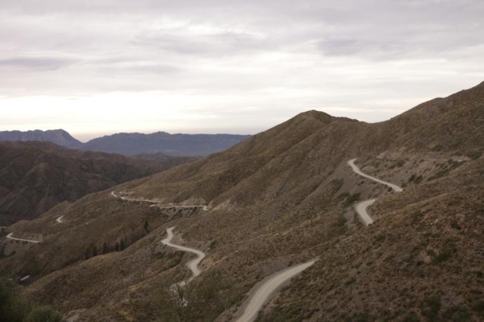 Vista da Pré-Cordilheira