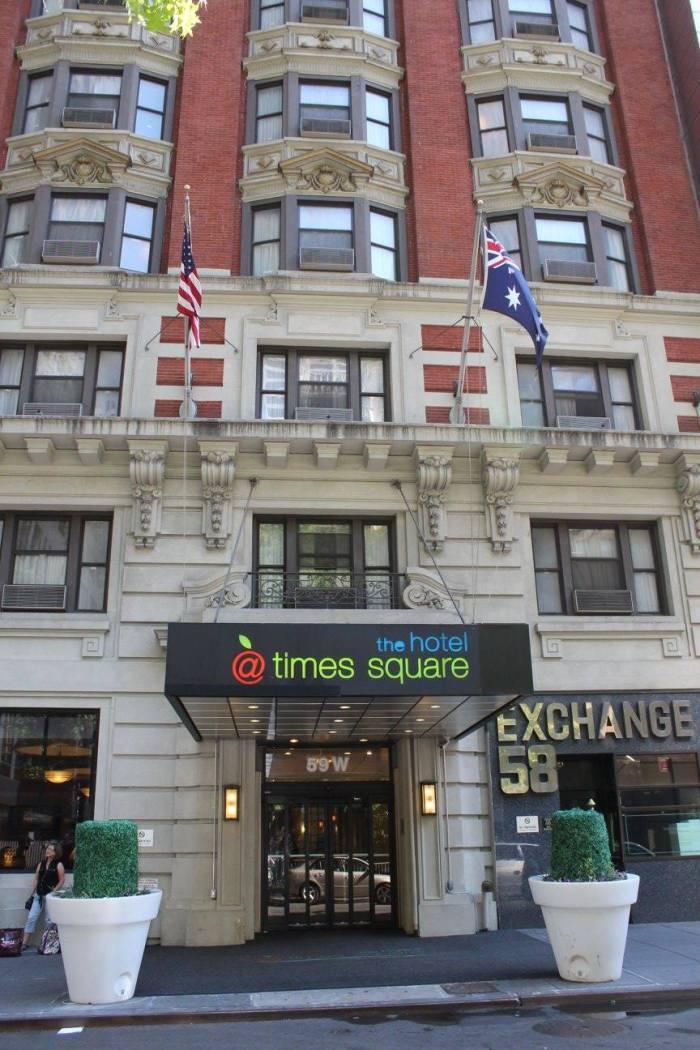 No coração de Manhattan, o The Hotel @ Times Square
