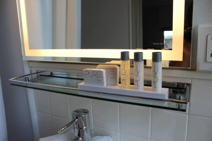 Produtos de higiene da marca Pure