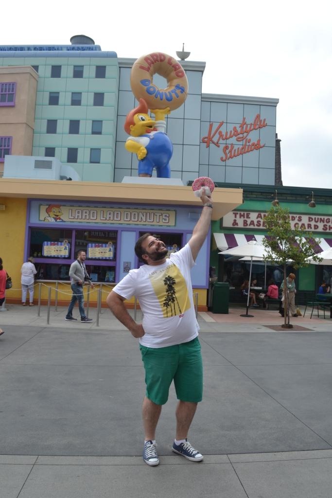 Sem medo de ser gordo no Universal Hollywood