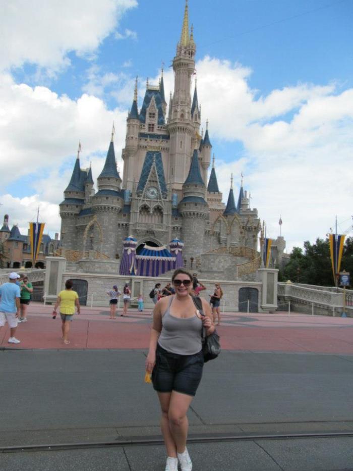 Pela primeira vez na Disney já com uns 26 anos