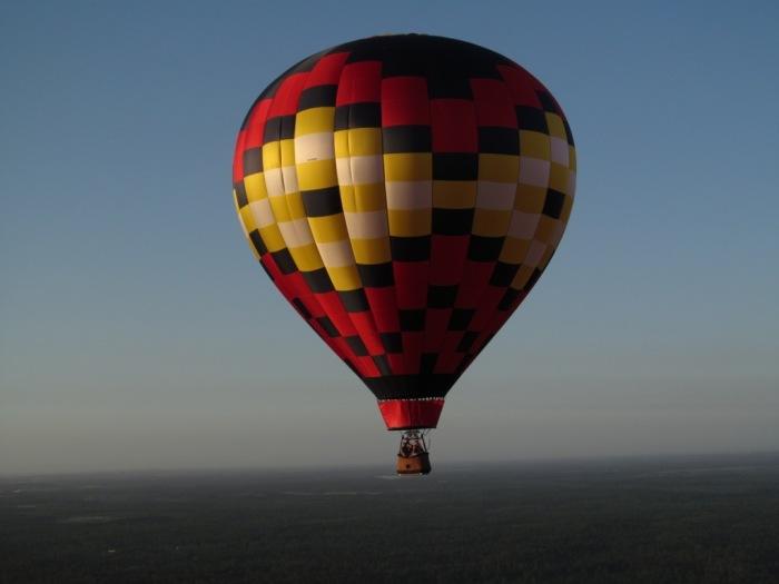 Que tal voar em uma balão?