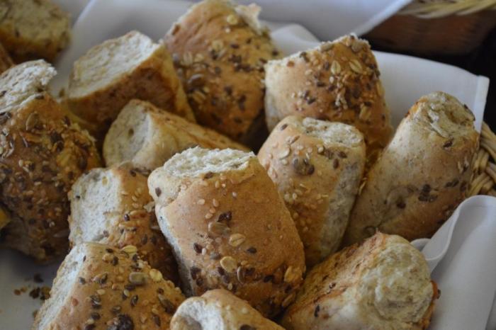 Tem até pão integral