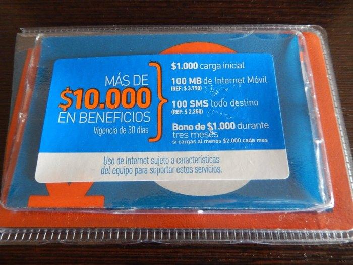 Todos os benefícios do chip da Entel pré-pago